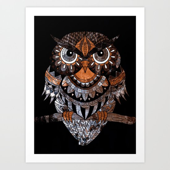 OWL 3 Art Print