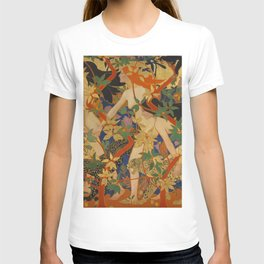 DIANA AND HER NYMPHS - ROBERT BURNS T-shirt