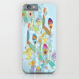 Open Water Madness 2 iPhone Case