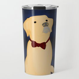 Best Friend Labrador Puppy In A Bow Tie Travel Mug