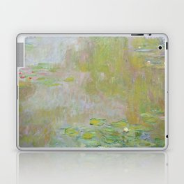 Water Lily Pond by Claude Monet Laptop & iPad Skin