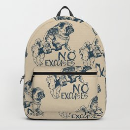 NO EXCUSES Backpack