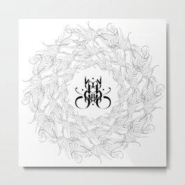 """""""LEAFLOW"""" Metal Print"""