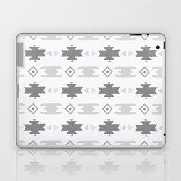 Southwestern Pattern Gray Cream Laptop & iPad Skin