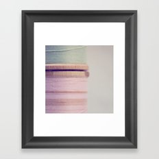 sew Framed Art Print