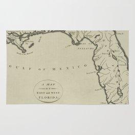Vintage Map of Florida (1794) Rug