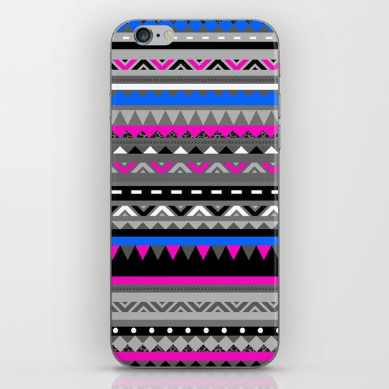 DONOMA ▲ BLUES iPhone & iPod Skin