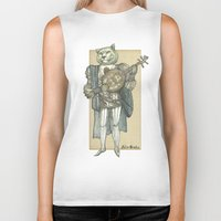 banjo Biker Tanks featuring Banjo Lion by Felis Simha