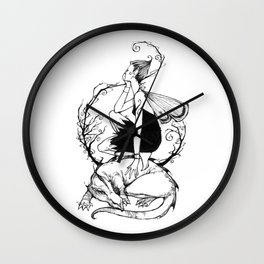 Waiting on a Friend Wall Clock