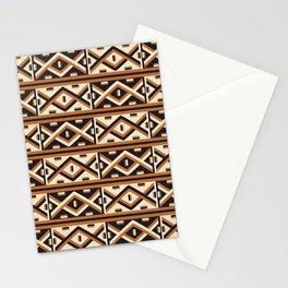 African Kuba Raffia Pattern Stationery Cards