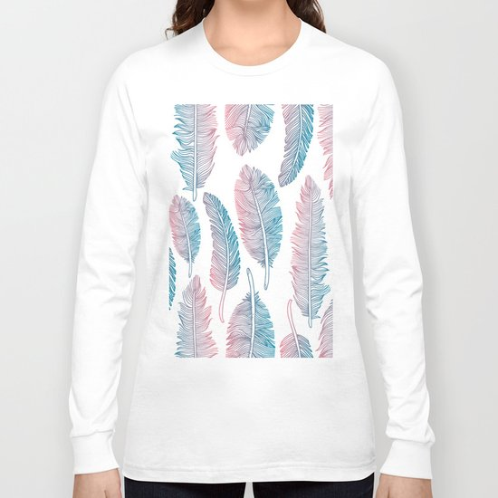 Boho feathers Long Sleeve T-shirt