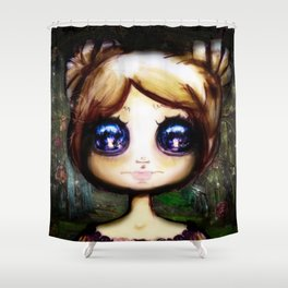 Gretel and the Witch Shower Curtain