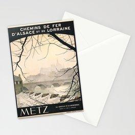retro Metz Stationery Cards