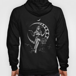 II. The High Priestess Tarot Card Illustration (Alternative Version) Hoody