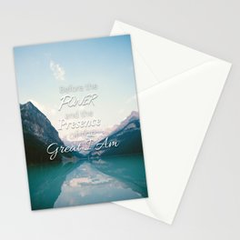 The Great I Am Stationery Cards
