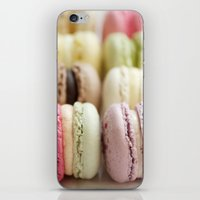 macaron iPhone & iPod Skins featuring macaron by Susigrafie