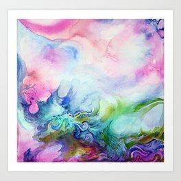 Creative Watercolour / Watercolor Print Art Print