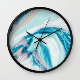 Ignite - Agate Wall Clock