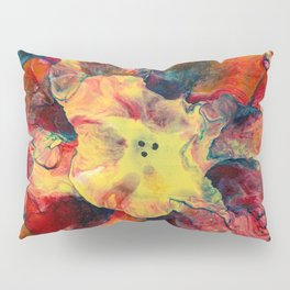 Bloomin' Denim Pillow Sham