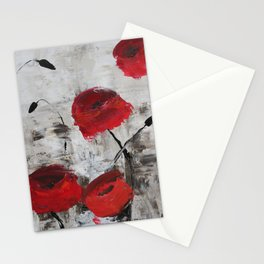 Sloppy Poppy Stationery Cards