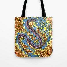 Dragon Drawing Meditation Tote Bag