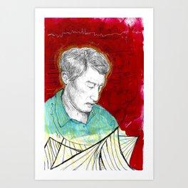 Xenakis's Brainstorm Art Print