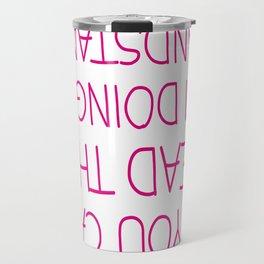 Handstand Travel Mug