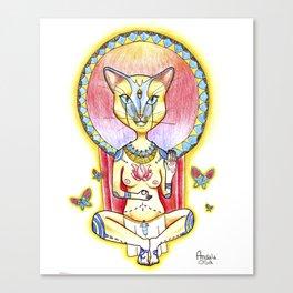 Chamana Egipcia Canvas Print