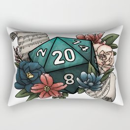 Bard Class D20 - Tabletop Gaming Dice Rectangular Pillow