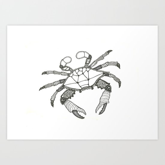Crab Two Art Print