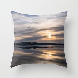 Autumn Sea II Throw Pillow