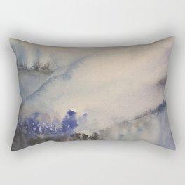 Mountain of trees Rectangular Pillow
