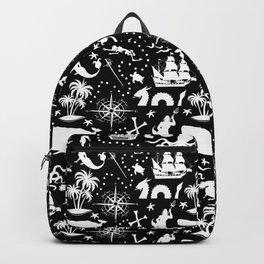 High Seas Adventure // Black Backpack