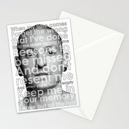 RIP CHESTER Stationery Cards