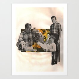 fathers & sons Art Print