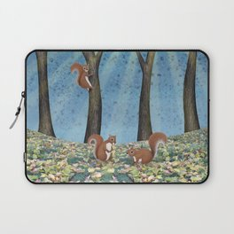 sunshine squirrels Laptop Sleeve