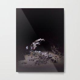 Pluto's Cave Metal Print