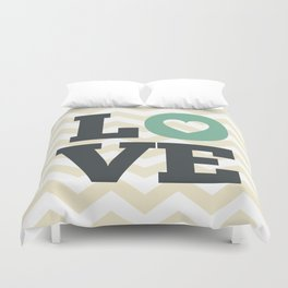 Love , nursery decor , child gift , birthday gift, Duvet Cover