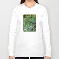 giants Long Sleeve T-shirts featuring Fallen Giants by Patricia Howitt
