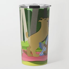Dragon Age - Alistair and Cousland [Commission] Travel Mug