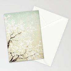 Frozen Tree Stationery Cards