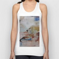 broadway Tank Tops featuring Broadway East No.17 by Xi By Xi Chen