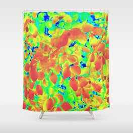 An Almost Natural Exuberance Shower Curtain