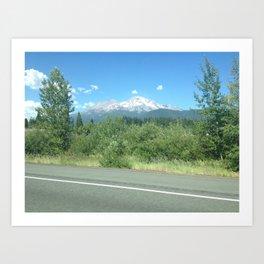 Mt. Shasta Art Print