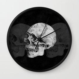 We Left As Skeletons  Wall Clock