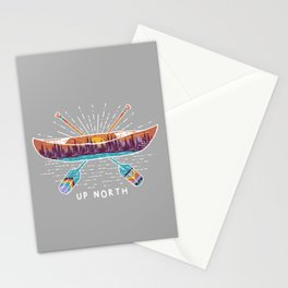 Up North Canoe Stationery Cards