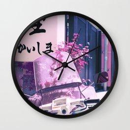 Lovers in Japan Wall Clock