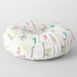 Llama Floor Pillow