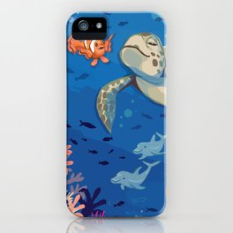Under the Sea and Above the Coral iPhone Case