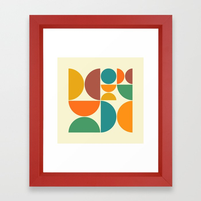 SYSTEMS 47 Framed Art Print